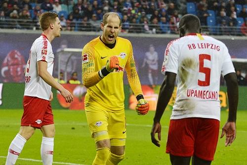 Peter Gulacsi hatte im Tor von RB Leipzig viel Grund zur Freude. | Foto: Dirk Hofmeister