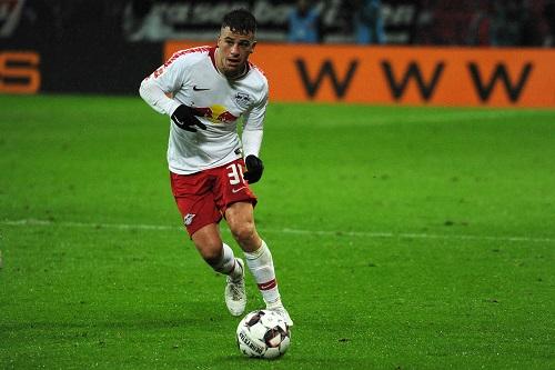Diego Demme versuchte erfolglos sein bestes, das Offensivspiel anzukurbeln. | Foto: Dirk Hofmeister