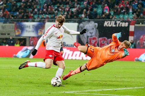 Timo Werner gegen Mainz mit der Entscheidung. | GEPA Pictures - Gabor Krieg