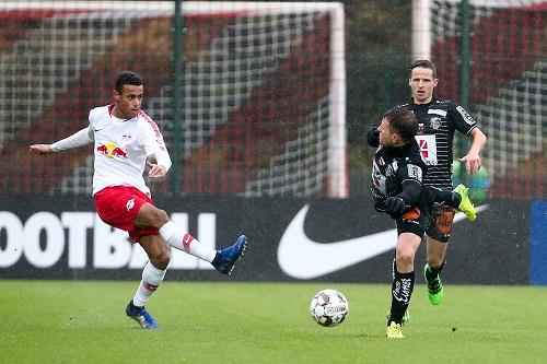 Tyler Adams erstmals im Trikot von RB Leipzig im Einsatz. | GEPA Pictures - Gabor Krieg
