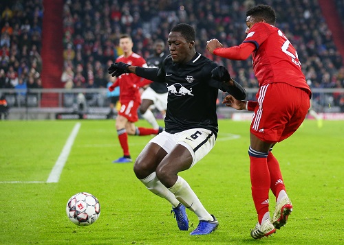 Ibrahima Konaté spielte eine unheimlich abgeklärte Saison. | GEPA Pictures - Thomas Bachun