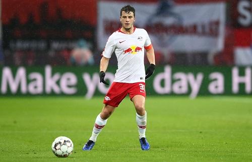 Diego Demme war wieder mal der Dauerläufer bei RB Leipzig. | GEPA Pictures - Roger Petzsche