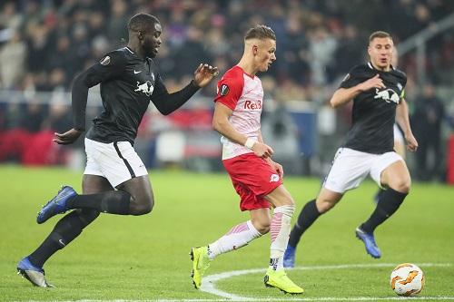 Hannes Wolf läuft den Leipziger Spielern künftig nur noch im Training davon. | GEPA Pictures - Jasmin Walter