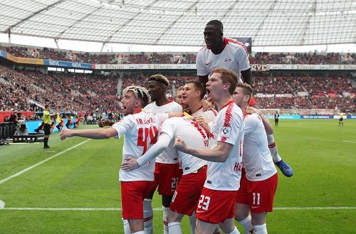 RB Leipzig jubelt auch im siebten Auswärtsspiel am Stück. | GEPA Pictures - Roger Petzsche