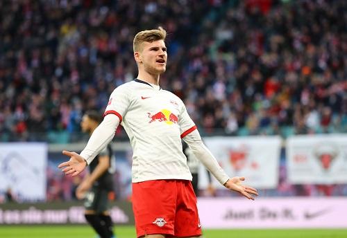 Timo Werner hat bei RB Leipzig derzeit eine überragende Torquote. (GEPA Pictures - Roger Petzsche)